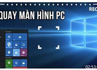 quay màn hình máy tính
