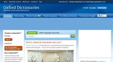 từ điển online