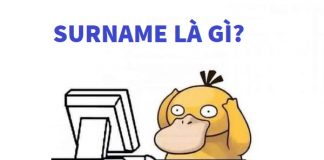 surname là gì
