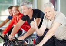 xe đạp tập thể dục cho người già