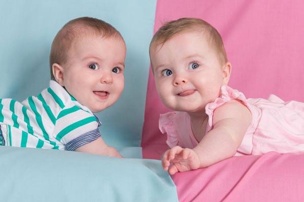 sinh đôi trai gái