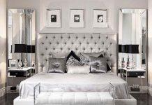 cách trang trí tường phòng ngủ
